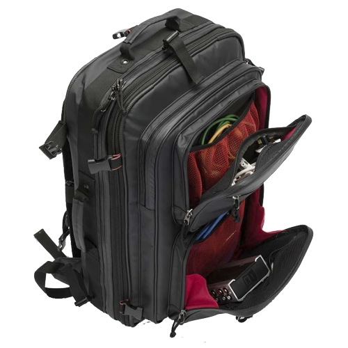 MAGMA Riot DJ-Backpack black/red