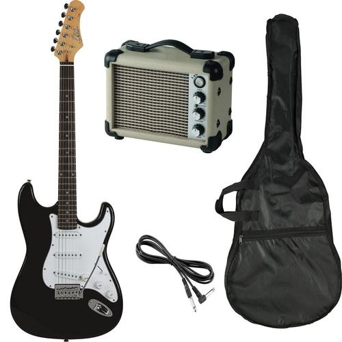 Комплект електрическа китара EKO S-300 с 5W усилвател и аксесоари