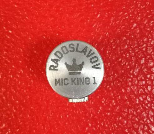 НОВО! Микрофон за Кларинет и Саксофон RADOSLAVOV MIC KING 1