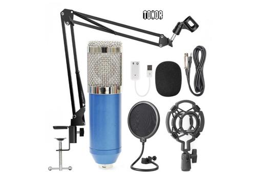 Tonor Condenser Microphone - Универсален студио комплект