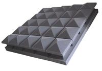 Пирамидален абсорбер - Звукоизолация