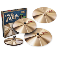 PAISTE PST 7 UNIVERSAL Set 14/16/20 +18 crash