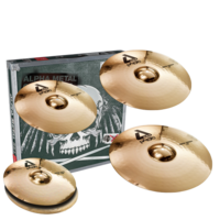 PAISTE ALPHA BRILLIANT ROCK SET + 18'' Crash