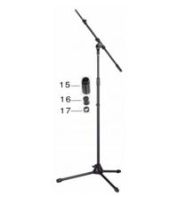 STAGG MIS-2024BK Стойка за микрофон