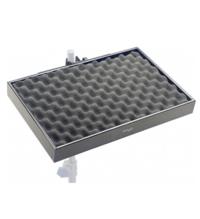 STAGG PCTR-4530-BK поставка за перкусии с клампа за прикачане към стойки 45*30*5cm