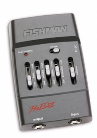 FISHMAN Pro-EQ II Acoustic Preamp/EQ