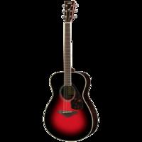 YAMAHA GUITARS FS830 Dusk Sun Red