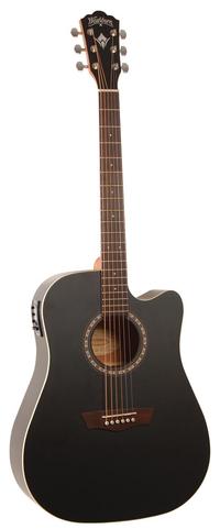 Washburn WD7SCEBM acoustic guitar