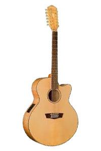 Washburn WJ45SCE12 acoustic guitar