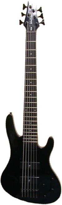 Washburn XB126B bass guitar