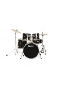 Акустични барабани Premier STAGE 20 BK S комплект с хардуер, столче, чинели и палки