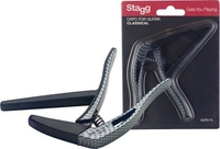 STAGG SCPX−FL CARBON Каподастер за класическа китара