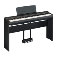 YAMAHA STAGE PIANOS P-125 Black_bundle