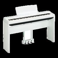 YAMAHA STAGE PIANOS P-125 White_bundle