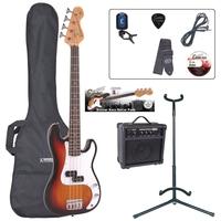 Encore Бас китара 7/8 - комплект EBP-E20SB - Sunburst