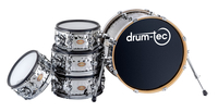 drum-tec diabolo Hand Hammered Shell Set Basic