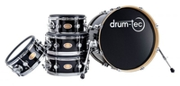 drum-tec diabolo Shell Set (black finish) + Рама