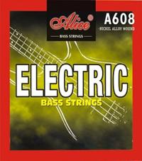 Alice Сруни за Бас Китара  A608(5)-M 5-str Bass Strings, 45-130