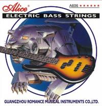 Alice Струни за Бас Китара 6 в к-т.  A606(6)-M 6-str Bass Strings, 32-130