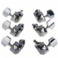 Ключове за акустична китара 3/3  к-т. AL-015P 3+3 Machine Head Set, Chrome, Alice
