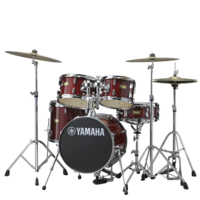 YAMAHA DRUMS Junior Kit Manu Katche Cranberry Red