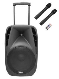 Тонколона с акумулатор EBH15W 100 W 2 микрофона USB