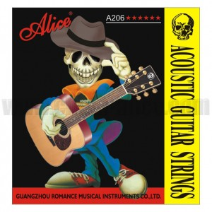 Alice A-206-SL Acoustic Guitar  Strings Super Light