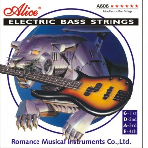 Alice Electric Bass Strings 4-string,light  A606