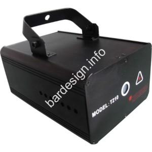 Червен и зелен дискотечен Лазер Laser VD210