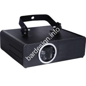 Пълноцветен 500mW RGB Лазер с 3D анимация и DMX управление