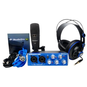 PreSonus AudioBox Studio - AudioBox, HD7 Headphones, M7 Mic, S1 Artist