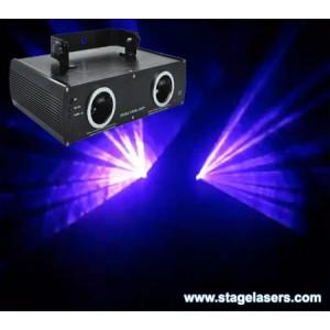 Дискотечен лазер Dual Laser: Red and Violet